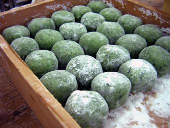 京都の和菓子|よもぎ大福