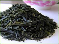 のど越しすっきり 昔なつかし「大地の煎茶」